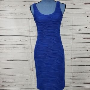 NWT Gorgeous Blue Form Fitting Dress